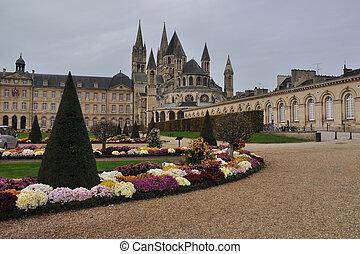 "Abbaye-aux-Hommes - The Abbaye aux Hommes (\""Men\'s Abbey\"")..."