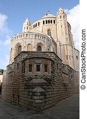 Abbey in jerusalem - a picture of an abbey in jerusalem