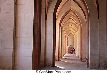 Abbey of Eberbach near Eltville Rhine, Germany