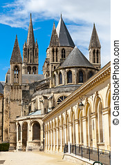Abbey of Saint Etienne,  Caen, Normandy, France