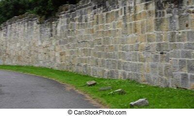 abbey wall of  Adelberg Germany
