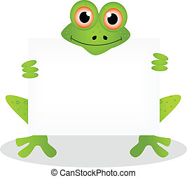 abbildung, karikatur, frosch, 4
