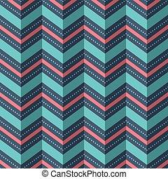 abbildung, von, seamless, geometrisches muster