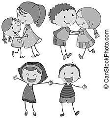 abbracciare