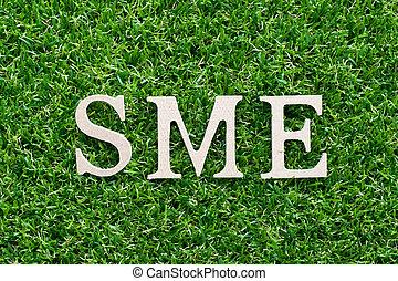 (abbreviation, 木, 緑, 人工, 草, サイズを定められた, アルファベット, sme, 背景, 媒体...