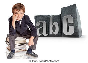 abc, écolier