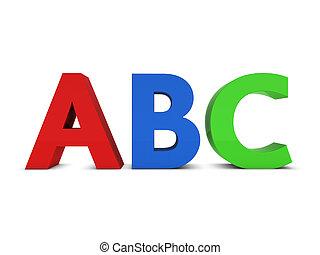 abc, знак