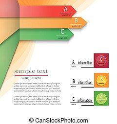 abc, テンプレート, infographics