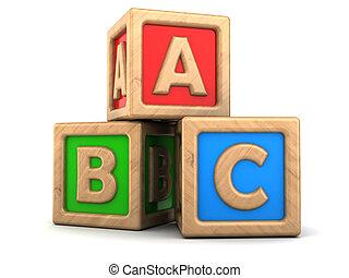 abc, 立方体