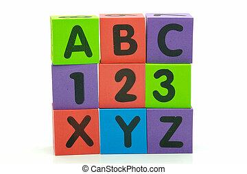 ABC 123 XYZ