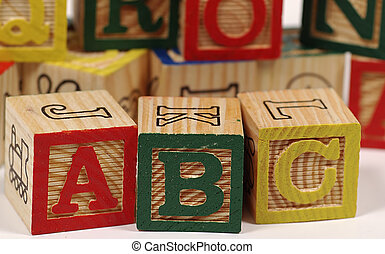 ABC Blocks - Photo of Wooden Baby Blocks