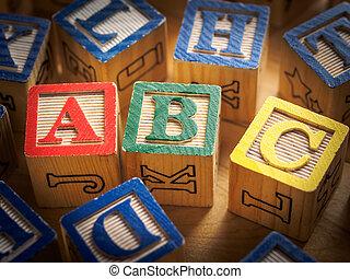 abc, blocos