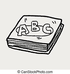 abc book doodle