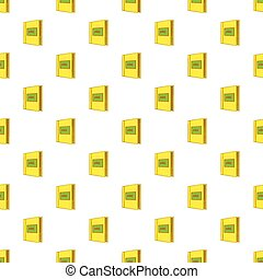 ABC book pattern, cartoon style - ABC book pattern. Cartoon ...
