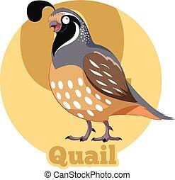 Abc Caricatura Quetzal Vector Imagen Abc Quetzal Caricatura