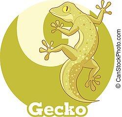 ABC Cartoon Gecko