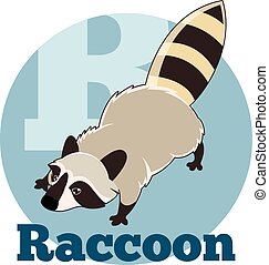 ABC Cartoon Raccoon