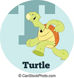 ABC Cartoon Turtle2