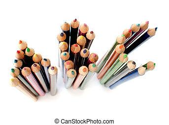 ABC colored pencils
