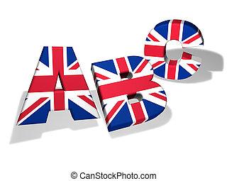 Abc English School Concept - English language school and...