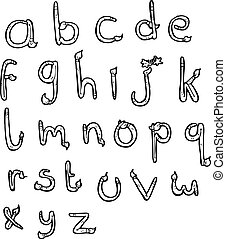 abc, karikatúra