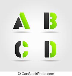 abcd, verde
