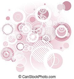 abctract, rosa, bg