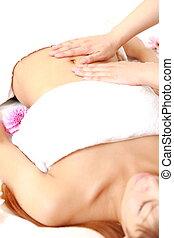 abdomen, masage