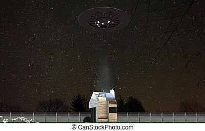 abduzione, ufo