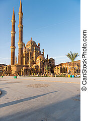 aBeautiful Mosque in Sharm El Sheikh - architectural...