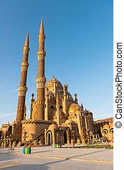 aBeautiful Mosque in Sharm El Sheikh - architectural...