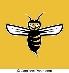 abeja, agressive, mascota