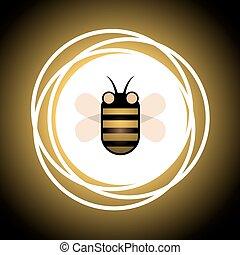 abelha, ícone