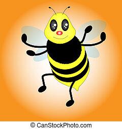 abelhas, vetorial
