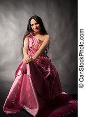 Abendkleid - Frau