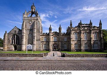 Aberdeen University King's College Chapel building captured...
