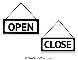 abertos, sinal fechado