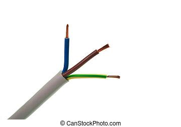 Abgestreift, Elektrisch, Kabel