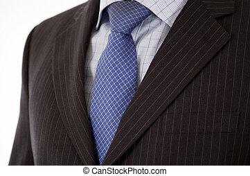 abito uomo affari