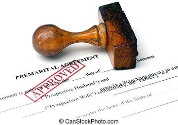 abkommen, premarital