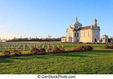 ablain-saint-nazaire, -, cementerio nacional, francés, notre-dame-de-lorette