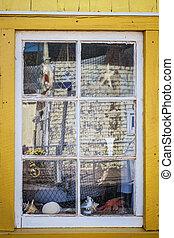 ablak, bolt, emlék