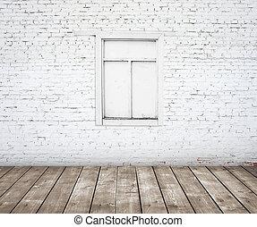 ablak, erdő