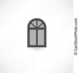 ablak, ikon