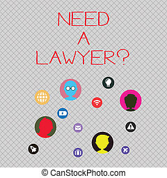 abogado, foto, charla, necesidad, si, arriba., practica, ...