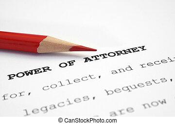 abogado, potencia