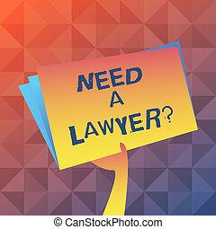 abogado, texto, señal, archivo, blanco, necesidad, si, ...
