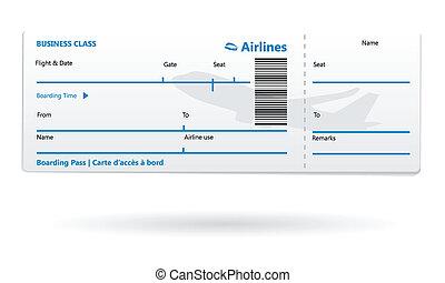 abordaż ferują, airline, czysty