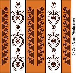 aborigeno, astratto, fondo