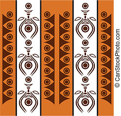 Aboriginal abstract background